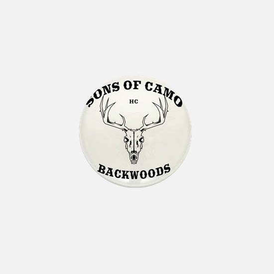 Sons Of Camo Dark Mini Button