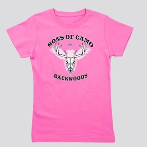 Sons Of Camo Dark Girl's Tee