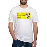 nee ora corangin ano? Fitted T-Shirt