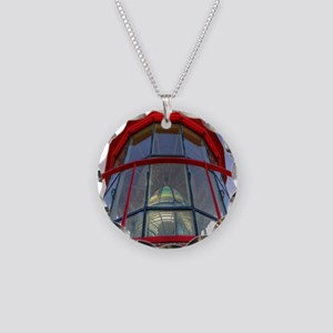 St Augustine Lighthouse Lens Necklace Circle Charm