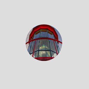 St Augustine Lighthouse Lens Mini Button