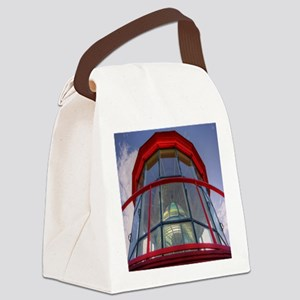 St Augustine Lighthouse Lens Canvas Lunch Bag