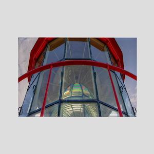 St Augustine Lighthouse Lens Rectangle Magnet