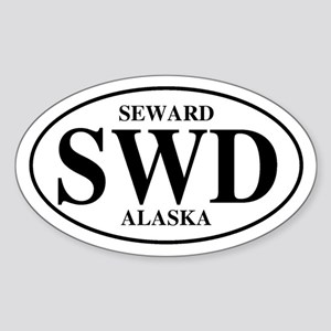 Seward Oval Sticker