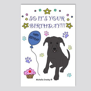 Happy Birthday from Pit B Postcards (Package of 8)