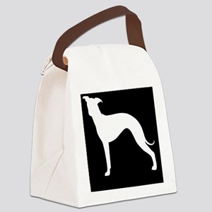 italgreyhoundpatch Canvas Lunch Bag