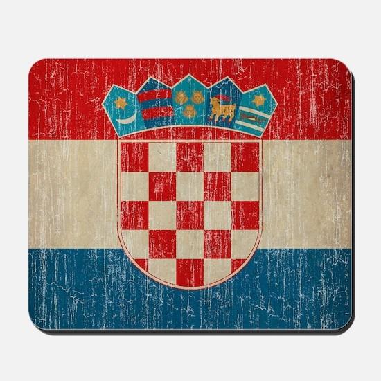 Vintage Croatia Mousepad