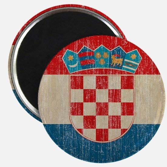 Vintage Croatia Magnet