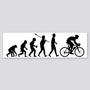 Bicycle-Racer2 Sticker (Bumper)