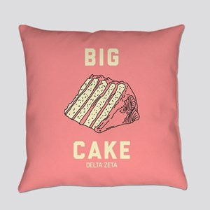 Delta Zeta Big Cake Everyday Pillow