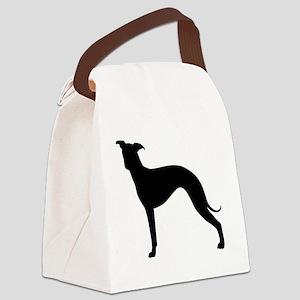 Italian Greyhound Canvas Lunch Bag