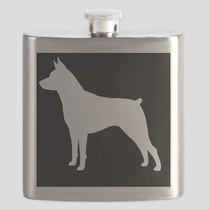 Min Pin Patch Flask