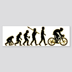 Bicycle-Racer3 Sticker (Bumper)