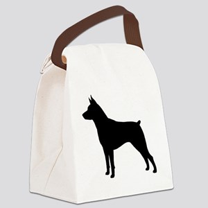 Min Pin Silhouette Canvas Lunch Bag