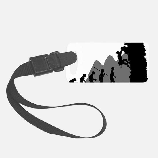 Climbing Luggage Tag