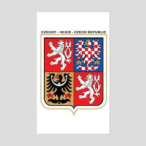 CZECH REPUBLIC Rectangle Sticker