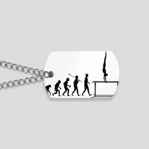 Gymnastic--Parallel-Bars-02 Dog Tags
