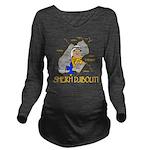 Sheik Djibouti Long Sleeve Maternity T-Shirt