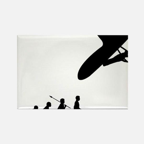 Hang-Gliding-03 Rectangle Magnet