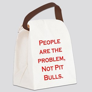 People Problem Larger Canvas Lunch Bag