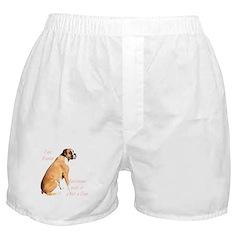 Boxer Shorts - just a dog
