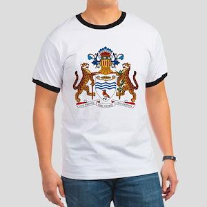 Guyana Coat of Arms Ringer T