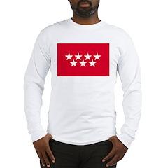 Madrid Flag Long Sleeve T-Shirt