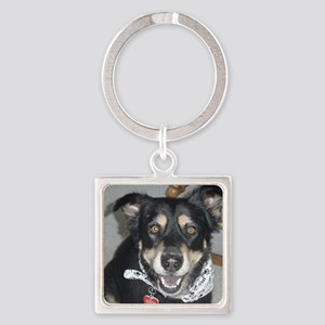 Sydney the therapy dog Square Keychain