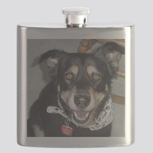 Sydney the therapy dog Flask