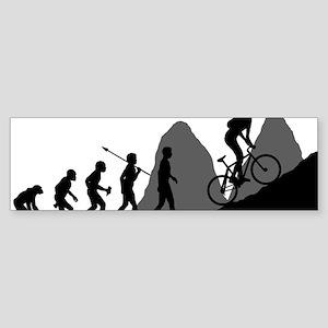 Mountain-Biking Sticker (Bumper)