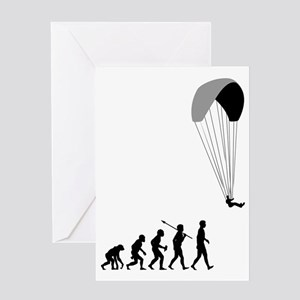 Paragliding2 Greeting Card