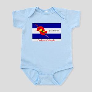 grok the zen Colorado flag Body Suit