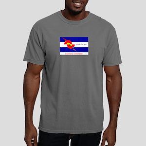 grok the zen Colorado flag T-Shirt