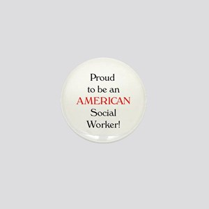 Proud American SW Mini Button