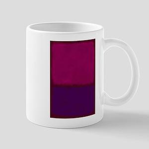 ROTHKO PURPLE HOT PINK Mugs