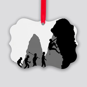 Rock-Climbing-02 Picture Ornament