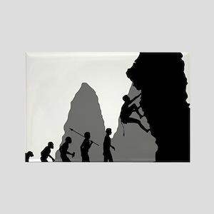 Rock-Climbing-02 Rectangle Magnet