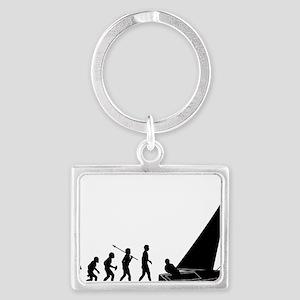 Sailing Landscape Keychain