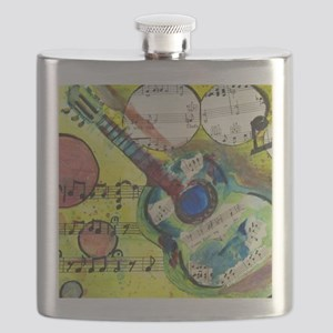 Heidelberg Guitar Flask