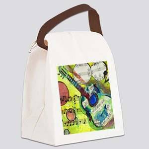 Heidelberg Guitar Canvas Lunch Bag