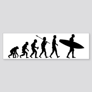 Surfing2 Sticker (Bumper)