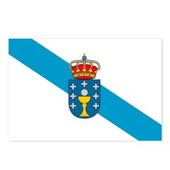 Galicia Flag Postcards (Package of 8)