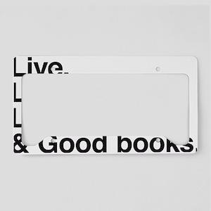 good books License Plate Holder