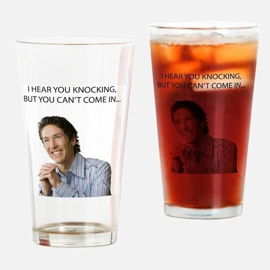 Unique Joel Drinking Glass