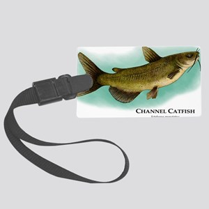 Channel Catfish Large Luggage Tag