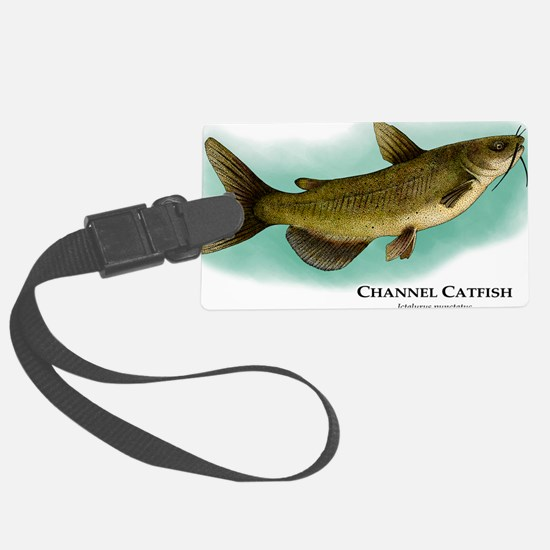 Channel Catfish Luggage Tag