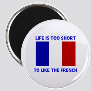 NO FRENCH Magnet