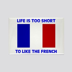 NO FRENCH Rectangle Magnet