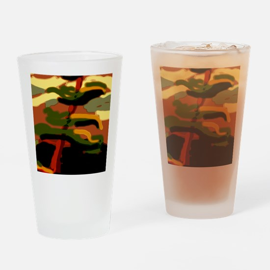 Great PineTree Drinking Glass