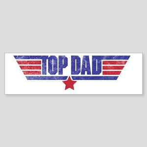 top dad Sticker (Bumper)
